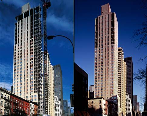 Marriott Execustay New York Ny Slenderwall Concrete Panels