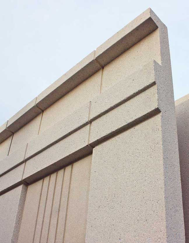 Cliffside slenderwall detail B 900 9in